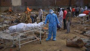 India reportó nuevo récord de muertes