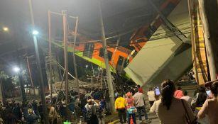 Vagón de la Línea 12 del Metro colapsó