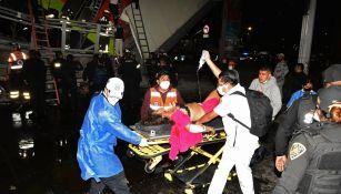 Usuaria del metro afectada tras accidente en L12