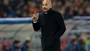 Spalletti, durante un partido de la Roma
