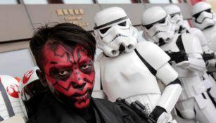Seguidores de la zaga festejan el Star Wars Day