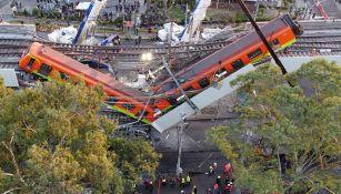 El colapso de la estructura en la línea 12
