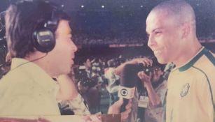 Ronaldo Nazario en entrevista con Tino Marcos