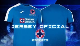 Indumentaria para la división de Cruz Azul de esports