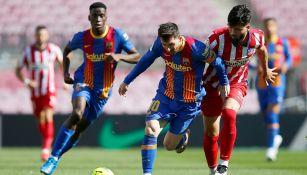 Barcelona y Atlético empataron a cero en el Camp Nou