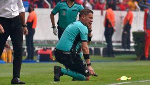 Pablo Hernández se lesionó