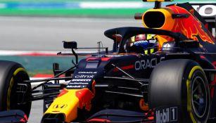 Checo Pérez en el GP de España
