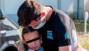Video: Aficionada del Olympique Marsella despidió entre lágrimas a Florian Thauvin