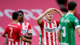 Érick Gutiérrez: PSV derrotó al Zwolle y puso un pie en eliminatoria de Champions League