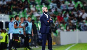 Javier Aguirre en derrota vs Santos