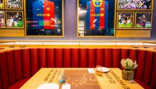 "Barcelona inauguró el ""Barça Café"""