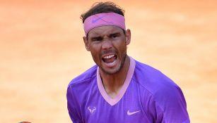Rafael Nadal, en celebración