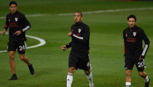 River Plate en entrenamiento