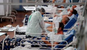 Pacientes con coronavirus en Brasil