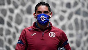 Jesús Corona previo al duelo entre Cruz Azul y Toluca