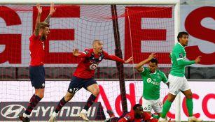 Eugenio Pizzuto: Lille igualó con el Saint Etienne y puso en peligro su coronación en Ligue 1