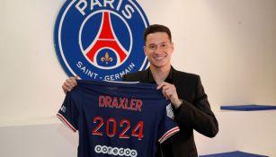Julian Draxler presume su estadía en el PSG