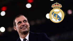 Allegri podría llegar al Real Madrid