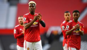 Manchester United empató con Fulham en el regreso de los aficionados a Old Trafford