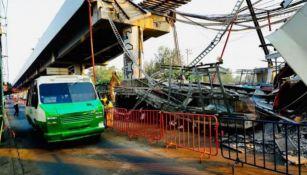 Zona afectada por el accidente en la estación Olivos de la Línea 12