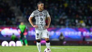 Richard Sánchez en partido con América