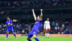 Ignacio Rivero durante un partido con Cruz Azul