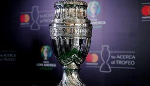 Trofeo de la Copa América es exhibido
