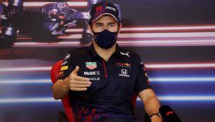 Checo Pérez previo a una carrera de F1