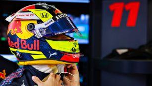 Checo Pérez en el Gran Premio de Mónaco