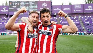 Héctor Herrera: Dedicó título del Atlético a los aficionados colchoneros