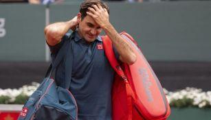 Video: Roger Federer falló reto y Gael Monfils salió lastimado