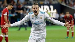 Gareth Bale durante un partido del Real Madrid
