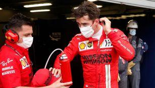 Gran Premio de Mónaco: Charles Leclerc perdió la 'pole' y no corrió por una avería