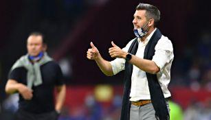 Pachuca: Paulo Pezzolano se dijo orgulloso de su equipo pese a derrota ante Cruz Azul