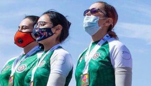 Mundial Tiro con Arco: México se llevó plata en la Final femenina con arco recurvo