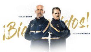 Hermes Desio y Gustavo Vargas