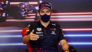 Checo Pérez en el GP de Mónaco