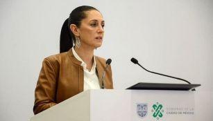 Claudia Sheinbaum, jefa de Gobierno de la CDMX