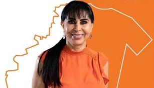 La candidata Alma Rosa Barragán de MC