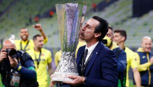 Unai Emery ganó su cuarta Europa League