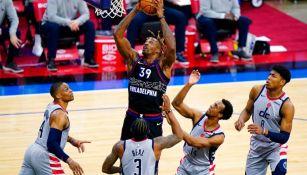 76ers derrotó a Wizards