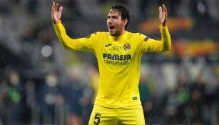 Dani Parejo en la Final de la Europa League