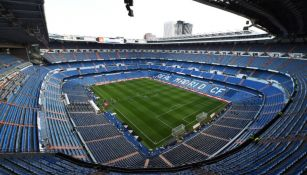 Incendio de reportó en las obras de Santiago Bernabéu