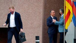 Barcelona: Pidió a Ronald Koeman 15 días de plazo para fichar a otro DT, según medios españoles