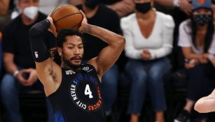 Derrick Rose de los Knicks de Nueva York