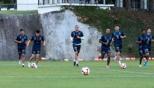 Rayados en entrenamiento previo a los Cuartos de Final del Clausura 2021