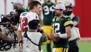 Tom Brady y Aaron Rodgers se enfrentarán en campo de golf en nueva edición 'The Match'