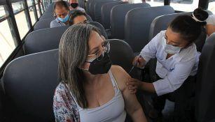 Vacunación contra Covid-19 en México