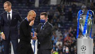 Pep Guardiola en Final de la Champions