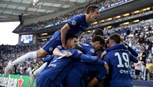 Chelsea en festejo de gol